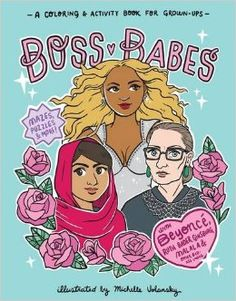 Boss Babes: A Coloring and Activity Book for Grown-Ups    #affiliate