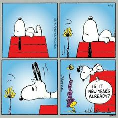 #peanutsspecials #ps #pnts #schulz #snoopy #woodstock #newyears #already