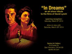 In Dreams: A David Lynch Art Show at Spoke Art Gallery
