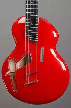 alquier luthier fabricant de guitares electriques et acoustiques   la Gnossienne