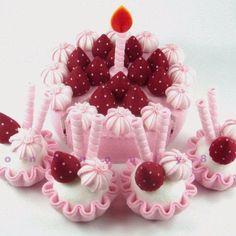 Torta in feltro 1
