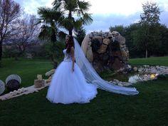 lovely bride at Ktima Likno!