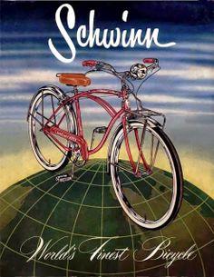 Schwinn 1955 / World'S Finest Bicycle