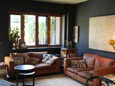 Ep 12 black 'Wow House' gallery | The Living Room Australia
