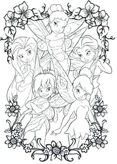 Looking for a Printable Disney Fairies Coloring Pages. We have Printable Disney Fairies Coloring Pages and the other about Coloring Pages it free. Tinkerbell Coloring Pages, Fairy Coloring Pages, Princess Coloring Pages, Disney Coloring Pages, Coloring Pages To Print, Free Printable Coloring Pages, Coloring Pages For Kids, Coloring Books, Coloring Sheets