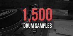 1,500 Drum Samples (Single Hit Samples, Hip Hop Kicks, Snares) https://hiphopmakers.com/drum-samples