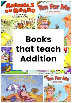 Addition books - The Measured Mom