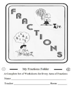 FRACTIONS WORKBOOK COMPLETE 55 WORKSHEETS ENTIRE UNIT   * STOP SEARCHING! ~ IT'S ALL HERE!   * THIS HUGE BUNDLE of 55 full worksheets covers EVERY AREA of fractions from beginning to end INCLUDING WORD PROBLEMS!! Your ENTIRE UNIT is covered!
