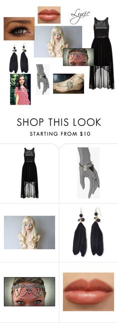 """""""Lyric's Music Video Outfit Chapter 12"""" by lyric-denali ❤ liked on Polyvore featuring Forever New, Bliss Lau and Mixit"""
