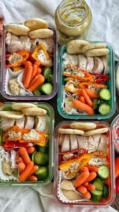 Chicken Lunch Recipes, Easy Pasta Recipes, Quick Dinner Recipes, Vegetarian Recipes Dinner, Healthy Breakfast Recipes, Healthy Dinner Recipes, Lunch Meal Prep, Easy Meal Prep, Healthy Meal Prep