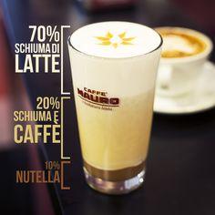 CAFFE' MAURO-COFFEE TIME-AMERICAN COFFEE CON NUTELLA
