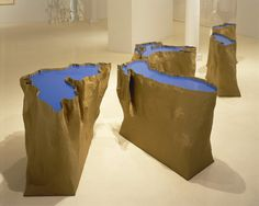 Robert Whitman, Great Lakes, 1996  mixed media; installation dimensions variable; ; © Robert Whitman, courtesy Pace Gallery / Photo by: Ellen Page Wilson, courtesy Pace Gallery