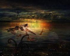 The Last Fairy Tale via @terryfleckney #fantasyart #fairytale #homedecor
