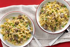 All-In-One Creamy Chicken Stroganoff Chicken Stroganoff, Stroganoff Recipe, One Pot Meals, Easy Meals, Campbells Soup Recipes, Weight Loss Meals, Creamy Chicken, How To Cook Pasta, Butter