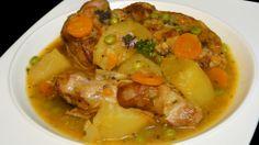Guisado de cordero (lamb stew). Mom speciality