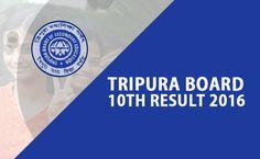 Tripura Madhyamik Result 2016