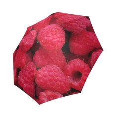 Raspberries Foldable Umbrella