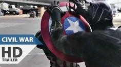 Captain America 3 Civil War NEW Trailer Spots Marvel Superhero Mo. Best Movie Trailers, Hd Trailers, Trailer 2, Official Trailer, Batman Vs Superman, Spiderman, Captain America Civil War, Margot Robbie Movies, Spider Man