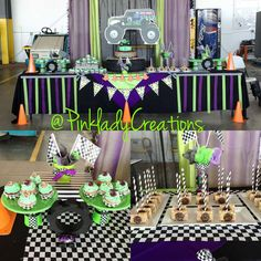 Dessert Table Monster Truck Party Monster Truck Party