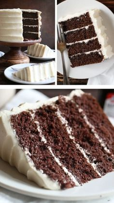 This Chocolate Maple Cake is the perfect Christmas dessert recipe for your parties! It is a rich chocolate cake paired with amazing maple buttercream. Save this chocolate cake recipe for later! Chocolate Cake Recipe Videos, Amazing Chocolate Cake Recipe, Chocolate Flavors, Chocolate Recipes, Ultimate Chocolate Cake, Cake Chocolate, Maple Cake, Cake Recipes, Dessert Recipes