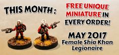 The Ion Age's Free Figure | The Wargames Website