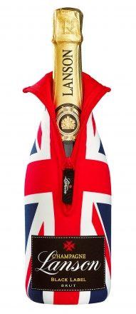 Lanson Black Label Champagne Brut Union Jack Ice Jacket NV 75cl