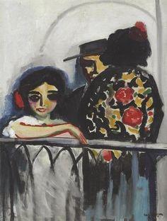 Kees van Dongen - Le Balcon, 1910