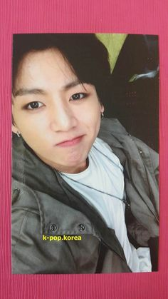 BTS JUNGKOOK Official Photo Card 4th IN THE MOOD FOR LOVE Photocard ITMFL