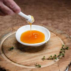 Footed bowl and honey dipper - gift boxed Honey Bees, Dipper, Tasmania, Wander, Artisan, Ceramics, Ethnic Recipes, Handmade, Gifts