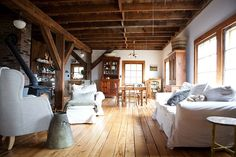 Nadia Dole Home | Beautiful original rustic / eclectic home situated in the New England's countryside.