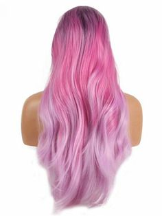 amazing holographic hair looks Dyed Hair Purple, Hair Color Purple, Cool Hair Color, Unicorn Hair Color, Colored Hair Tips, Kawaii Hairstyles, Silk Hair, Synthetic Lace Front Wigs, Hair Density