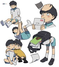 Anime In, Character Art, Character Design, Mob Physco 100, Mob Psycho 100 Anime, Familia Anime, Dibujos Cute, Kageyama, One Punch Man