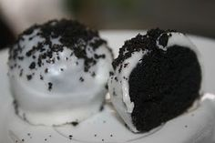 No-bake Oreo Cake Balls! My mom makes these all the time and they're amazing. Addictive though...