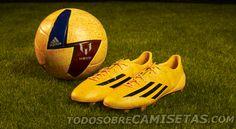 sports shoes b8f56 ecddd New Adidas adizero Messi Football Boots