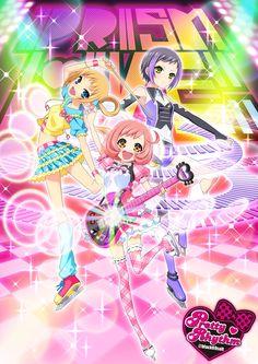 Pretty Rhythm Rainbow Live  Happy rain!
