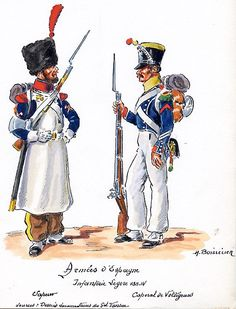 French; Light Infantry, Sapper & Voltigeur Corporal in Spain