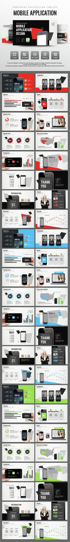 Mobile Application Design PowerPoint (PowerPoint Templates)