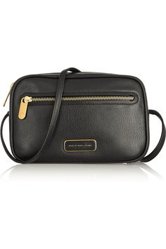 Marc by Marc Jacobs|Sally textured-leather shoulder bag|NET-A-PORTER.COM