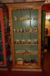 Beautiful and elegant, this large Texana Basura Stickbookshelf provides tons of storage. 41″ x 15″ x 78″. $1325.00