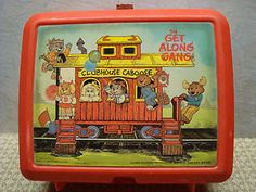 The Get Along Gang. I totally had this lunchbox with the matching thermos of course in 3rd grade.