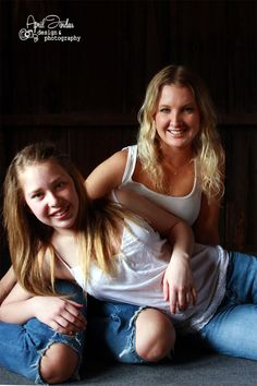 Mother daughter photo shoot