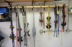 """Folks, we have a problem. As fast as our family is growing, we have something that's growing even faster. Our ski collection. Now, many of you may ask why that would ever be a problem. Well, if you had seen my garage, you would understand. For the last 5 years our skis have """"belonged"""" in … … Continue reading →"""