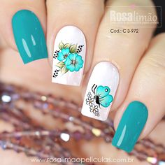 nail designs for fall nail designs for short nails 2019 essie nail stickers nail appliques best nail wraps 2019 latest nail art designs gallerynail designs for short nails 2019 nail stickers walmart nail art stickers walmart best nail polish strips 2019 Nail Art Designs, Latest Nail Designs, Butterfly Nail, Butterfly Pattern, Great Nails, Nail Art Stickers, Beautiful Nail Designs, Blue Nails, Gorgeous Nails