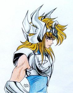 Saint Seiya - Cygnus Hyoga by ~Saeleth on deviantART