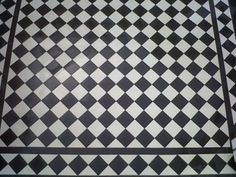 Recreate Victorian elegance and charm using these Victorian Black and White Quarry Tiles tiles for an eye-catching effect that immediately sets the ambiance in Pebble Mosaic Tile, Quarry Tiles, Ceramic Floor Tiles, Best Floor Tiles, Wall And Floor Tiles, Bathroom Floor Tiles, Room Tiles, Attic Bathroom, Kitchen Floor