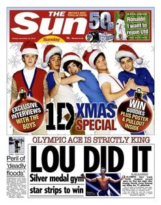 #onedirection on The Sun