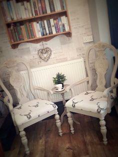 The reading corner !