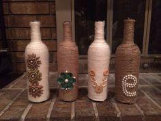 Love wine bottles