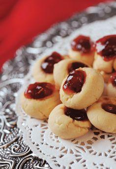 Thimble cookies. #Valentines #dessert #recipe