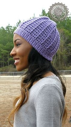 Country Appeal Beanie-free crochet pattern from Kathy Lashley ELK studio.ravelry free